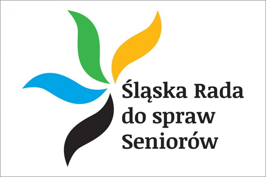 Logo Śląskiej Rady ds. Seniorów / autor: Magdalena Szadkowska - Doktorantka na Wydziale Artystycznym Uniwersytetu Śląskiego w Katowicach