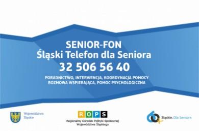 Śląski telefon dla seniora - 32 5065640